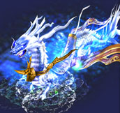 Azure Dragon: A mount to speed up your movement by 30%