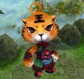 Meta Scroll of Tiger Handsome: Shift your shape to a cute tiger handsome. Only for male characters.